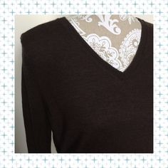 Talbots Brown Sweater Talbots brand brown sweater, 100% Merino Wool. Very soft. Good condition, no flaws. Size Large. Talbots Sweaters V-Necks