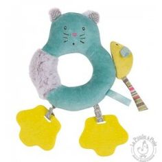 Hochet anneau chat Les pachats - Moulin Roty