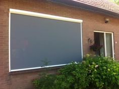Screen in woonplaats Veerle #screen #zonwering #blinds #rits #ritsscreen