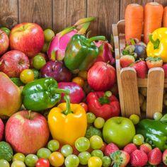 Schlank ohne Sport: Obst und Gemüse an Tag 3.