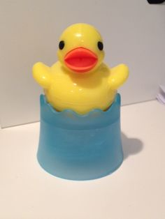 cute floating duck tea diffuser from Pylones