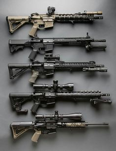 AR-15. If you don't have at lease one, maybe you AND your girlfriend should start seeing other men.