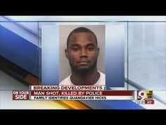 10.06.2015 Family members grieved the death of 22-year-old Quandavier Hicks. Hicks was killed by Cincinnati police Tuesday night after they say he tried to grab a rifle when they tried to arrest hi...