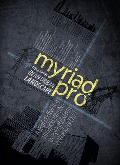 myriad typography - Buscar con Google