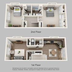 Ashton Park Townhomes floorplan 1