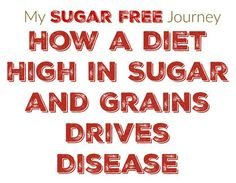 How a Diet High in Sugars and Grains Drives Disease