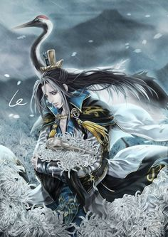 """Dynasty Warriors by winter16888312 Manga & Anime / Digital Media / Paintings--- Comment by: Linka17   """"This is great... I really like Guo Huai, he always looks so sad"""""""