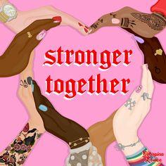 Protest Art, Square Art, Intersectional Feminism, Feminist Art, Pink Aesthetic, Ladies Day, Black Girl Magic, Order Prints, Girl Power