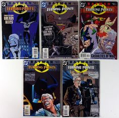 DC Comics - Batman Turning Points #s 1-5 Full Run Comic Book Series Set - VG to FN 2001