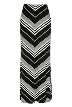 I like this zig zag skirt from Long Tall Sally.