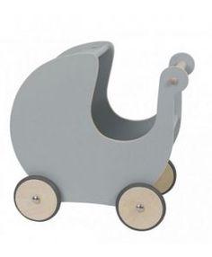 Sebra Dolls Wooden Pram Grey $299.95 www.sweetcreations.com.au #sweetcreations #baby #toddler #kids #toys #play #bathtime #dinnertime #gifts
