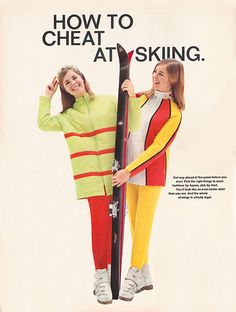 'Get ahead of the game before you start. Pick the right things to wear…' (1967)