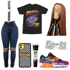Would you wear this? Nike Outfits, Summer Swag Outfits, Swag Outfits For Girls, Cute Swag Outfits, Teenage Girl Outfits, Cute Comfy Outfits, Teen Fashion Outfits, Trendy Outfits, Swag Fashion