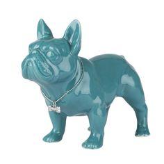 Ceramic French Bulldog