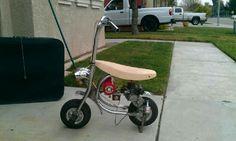 Trike Bicycle, Scooter Bike, Mini Motorbike, Mini Bike, Build A Go Kart, Dirtbikes, Cool Bikes, Bobber, Motorbikes