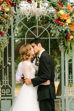 Gorgeous Fall Outdoor Conservatory Wedding At Ma Maison Texas   Photograph by Angela King Photography  http://storyboardwedding.com/fall-outdoor-conservatory-wedding-ma-maison-texas/