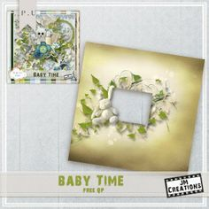 JM Creations: Baby Time Collection + Chance to Win + Freebies and CU Sale!!!