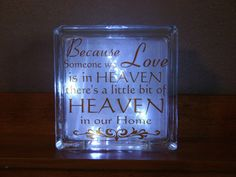 Because someone we love is in Heaven there's by CutesyandCreative