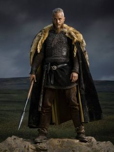 Vikings poster of Ragnar Lothbrok - Travis Fimmel                                                                                                                                                                                 More