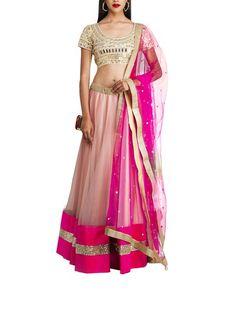63917d9e42 Mirror Work Lehenga, Net Lehenga, Indian Fashion Designers, Sari Blouse,  Anarkali Suits