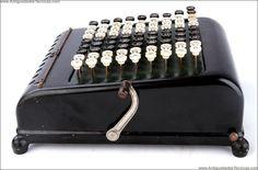 Charming Antique Burroughs 5 Calculator in Good Condition. USA, Circa 1920 | eBay