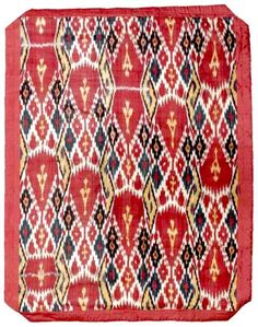 IKAT OF CENTRAL ASIA | Ikat Central Asian Panel late 19th century