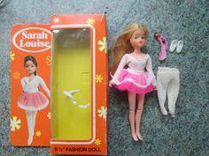 VINTAGE MINI SINDY DEBENHAMS SARAH LOUISE DOLL BALLERINA IN ORIGINAL BOX. pippa | 24.99+4