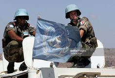 A UN flag flutters atop an armoured personnel carrier as UNIFIL. Understanding The Times, United Nations Security Council, Armoured Personnel Carrier, Peace And Security, French Foreign Legion, Paris Climate, Armed Conflict, Climate Action