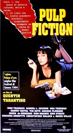 Pulp Fiction (1994) 90s Movies, Cult Movies, Good Movies, Horror Movies, Film Pulp Fiction, Ving Rhames, Eric Stoltz, Cinema Posters, Film Posters