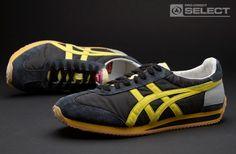 Onitsuka Tiger - California 78 OG Vintage - Mens Footwear - Black/Blazing Yellow