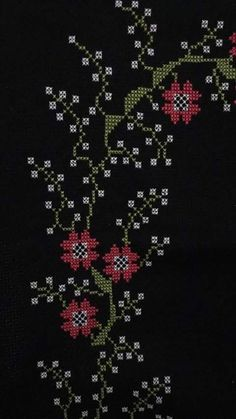 This Pin was discovered by BEY Cross Stitch Patterns, Embroidery Designs, Flowers, Diy And Crafts, Crafts, Creativity, Ideas, Manualidades, Cross Stitch