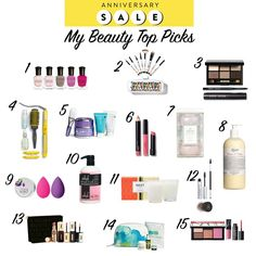 #NSALE Top Beauty Picks