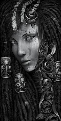 Sorceress by Alexander Fedosov