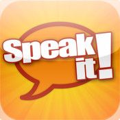 Speak It App: Enter or paste in any text and Speak It will read the text aloud in a variety of pleasant, natural voices. Each word is highlighted as it is spoken. $1.99 and worth it.