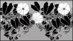Art Nouveau Border No 96 stencils, stensils and stencles