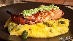 http://ricette.bbq4all.it/coniglio-marinato-su-polenta-con-fave-bruciate-e-mousse-di-pecorino