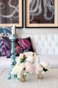 I have a childhood love affair with pail pink peonies... sigh...