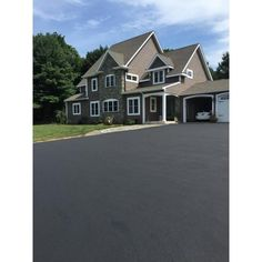 Latex-ite 5 Gal. Lift Driveway Overlay Sealer-62515 - The Home Depot Driveway Paint, Driveway Sealing, Diy Driveway, Driveway Repair, Driveway Landscaping, Driveway Ideas, Patio Ideas, Yard Ideas, Painting Concrete