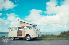 'Ernie' 1976 Westfalia VWT2 Camper for hire by VW Camper Hire Devon Ltd