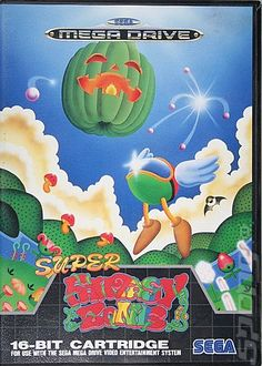 Super Fantasy Zone - Sega Megadrive Cover & Box Art