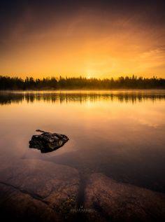 "Golden sunrise - Sunrise image taken in Kirkkonummi,Finland.Feel free to check my  <a href=""http://on.fb.me/1QRPKqq"">Facebook</a>"