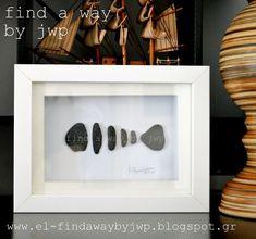 diy pebble art making a fish relic, crafts, home decor