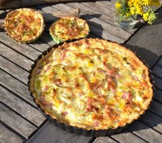 Baking & Sweets Archives - Pagina 5 di 9 - Cooking for love Quiches, Quiche Muffins, Creme Fraiche, Hawaiian Pizza, Soul Food, Food Videos, Food And Drink, Sweets, Baking