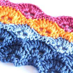 Create a Multicolor Crochet Border with @Guidecentral