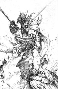 Earth 2 Batman by Brett Booth