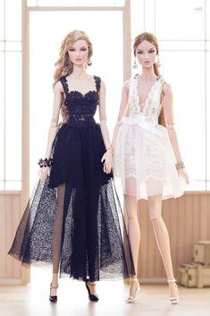 Beautiful Barbie Dolls, Vintage Barbie Dolls, Barbie Fashion Royalty, Fashion Dolls, Barbie Dress, Barbie Clothes, Lace Dress Styles, Beautiful Gowns, Couture Fashion