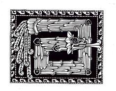 feathered serpent  http://eagarry.com/2003/mayan.jpg