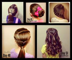 Girly Do Hairstyles: By Jenn: Week 11 {#girlydos100daysofhair}