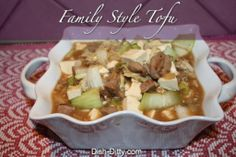 Family Style Bean Curd with Pork by Dish Ditty