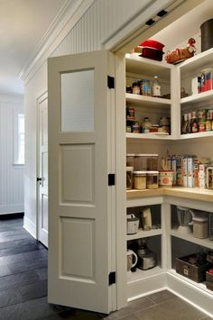 Outstanding kitchen pantry ideas for storage organizing (6)